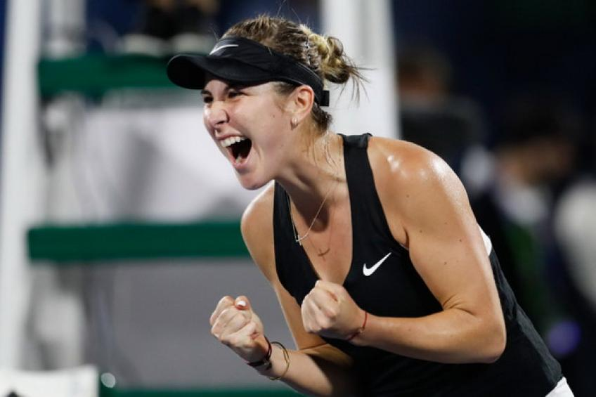 Unseeded Belinda Bencic upsets Petra Kvitova to lift Dubai title