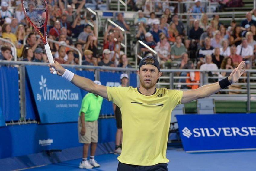ATP Delray Beach: Evans stuns Isner to set surprising final vs Albot