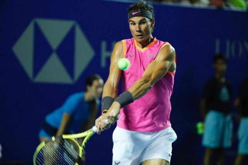 Nadal wins on return in Acapulco