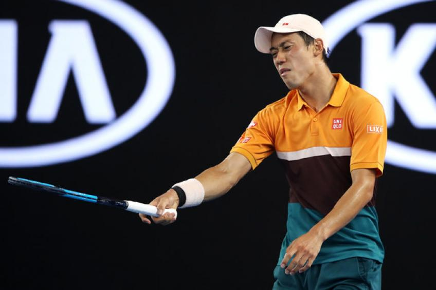 ATP Dubai Hubert Hurkacz sends top seed Kei Nishikori packing