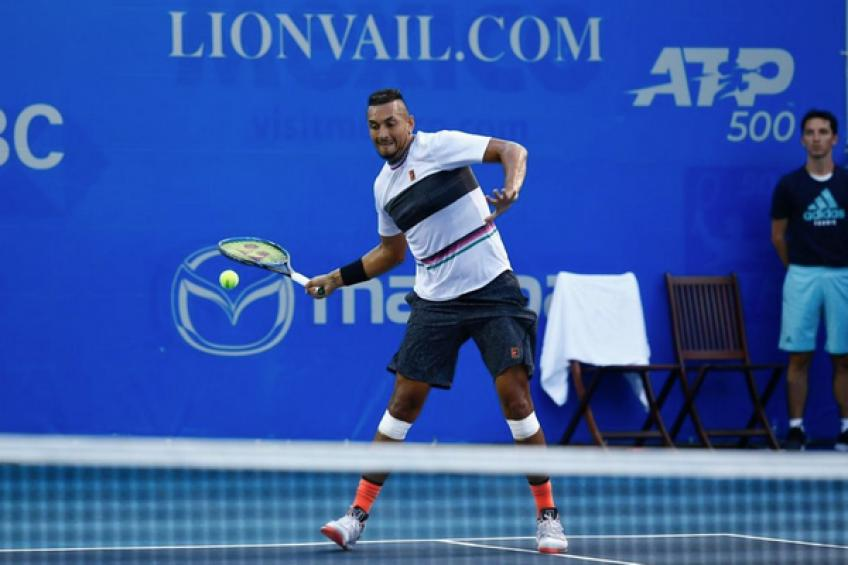 Nick Kyrgios hits back at Rafa Nadal's 'lack of respect' jibe