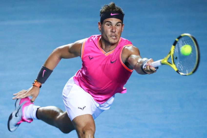 I suffered a wrist issue before Acapulco tournament, says Rafael Nadal