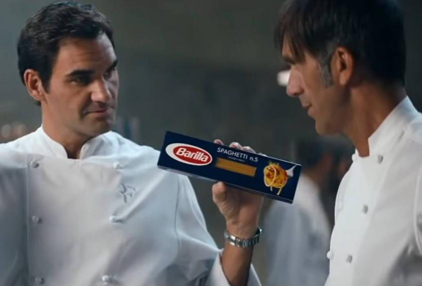 Roger Federer is a dedicated man, says Barilla creative director