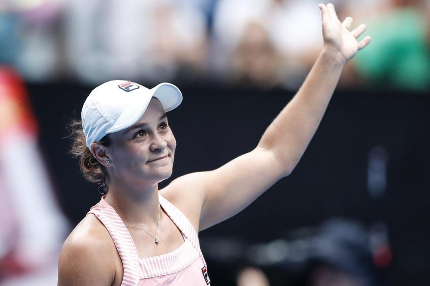 Ashleigh Barty named one of Australia's most inspirational women in sport