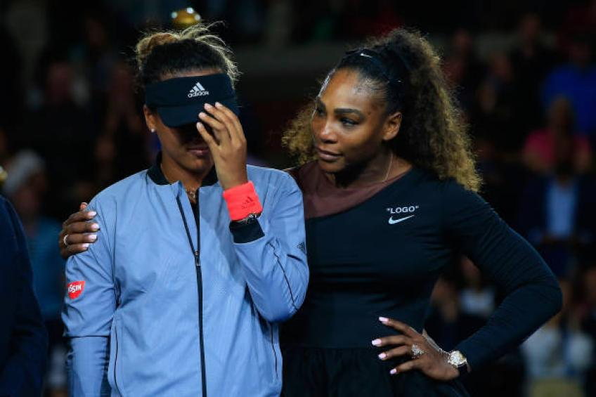 Naomi Osaka: 'I would not be what I am without Serena Williams. I love her'