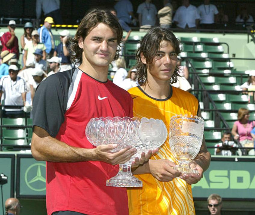Roger Federer: 'Win over Nadal at 2005 Miami showed I had great character'