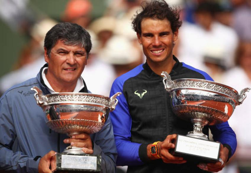 Toni Nadal shares the reason behind his split with Rafael Nadal