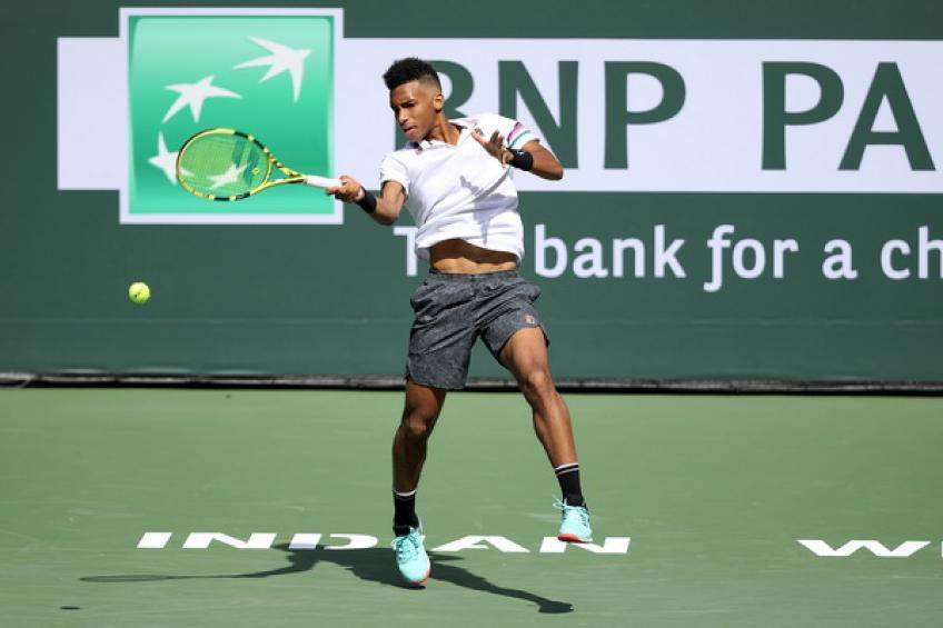 Felix Auger-Aliassime: 'There are no limits for me, working hard every day'