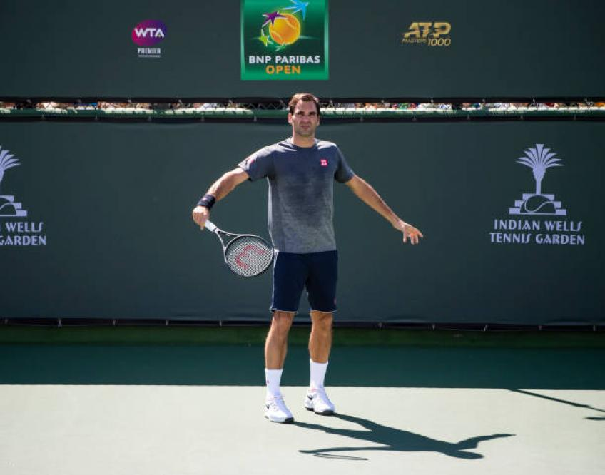 Roger Federer has a tough draw in Indian Wells, says pundit