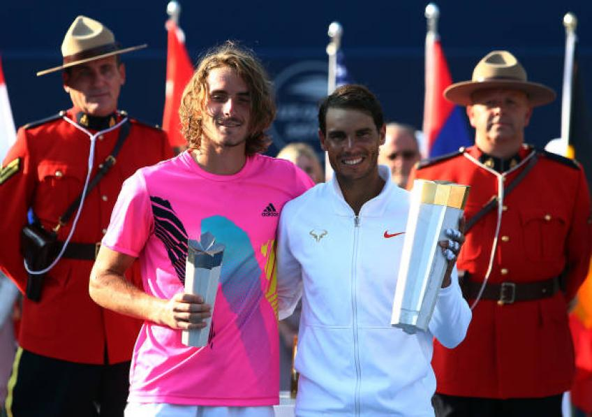 Playing all the finals against Rafael Nadal bothered me, says Tsitsipas