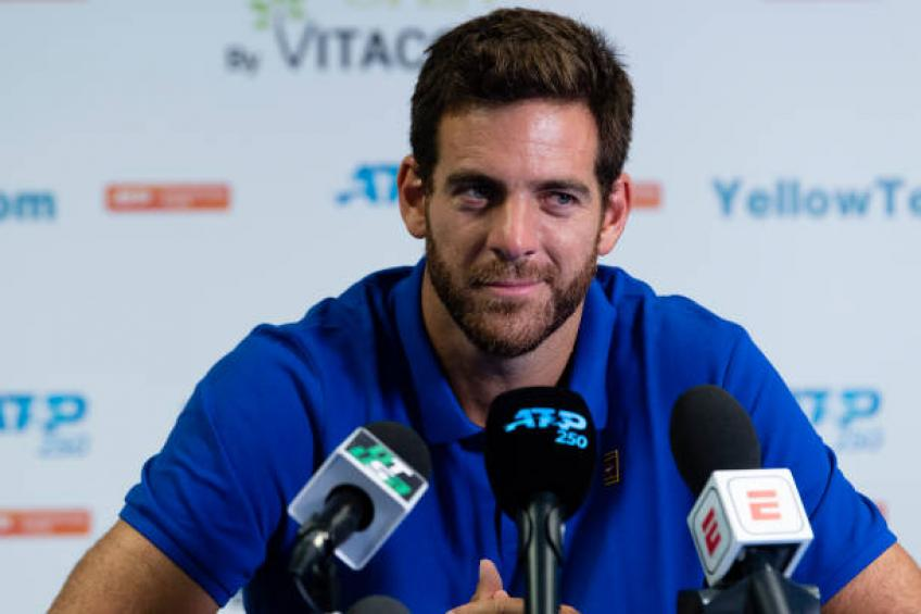 Del Potro: I had tough moments, but I want to keep surprising myself