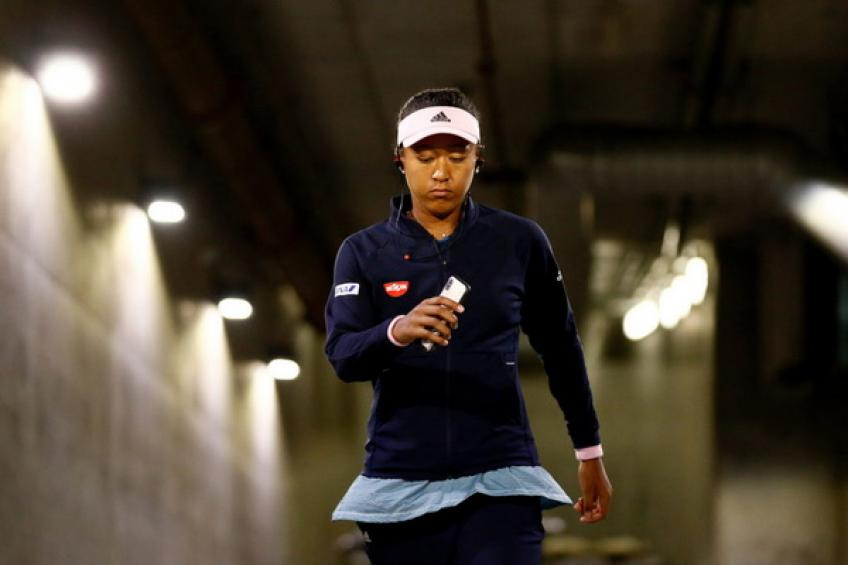Naomi Osaka draws difference between hers and Stefanos Tsitsipas' schedule