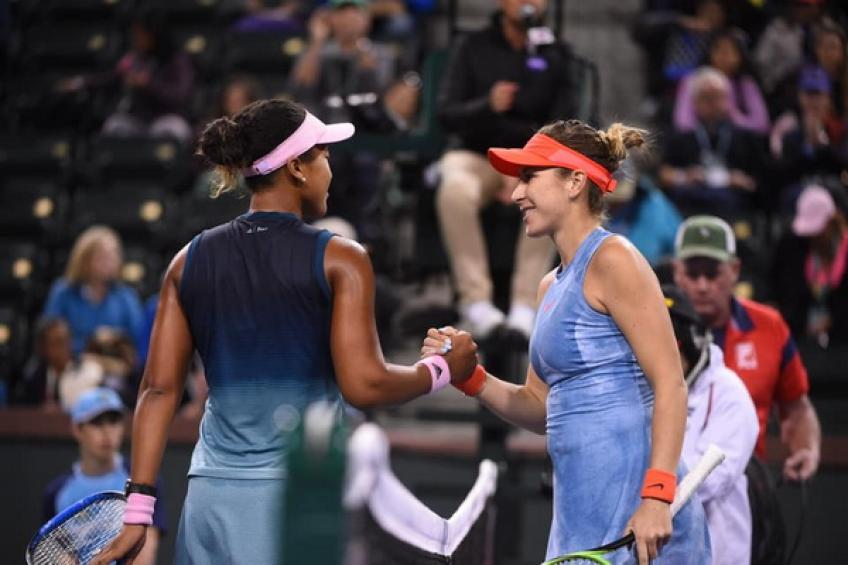 WTA Indian Wells: Inspired Belinda Bencic dethrones Naomi Osaka