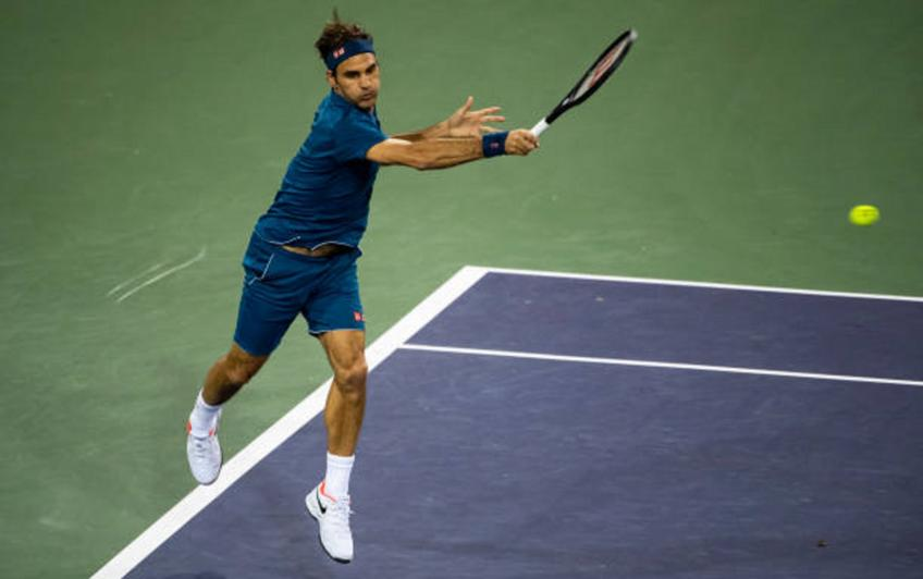 ATP Indian Wells - Wednesday Schedule: Roger Federer to play