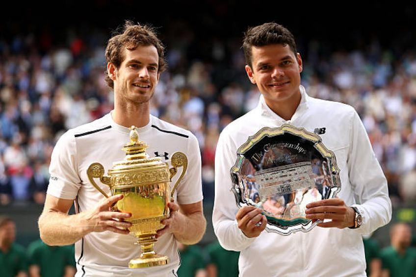 I didn't go through as much pressure as Andy Murray, says Milos Raonic