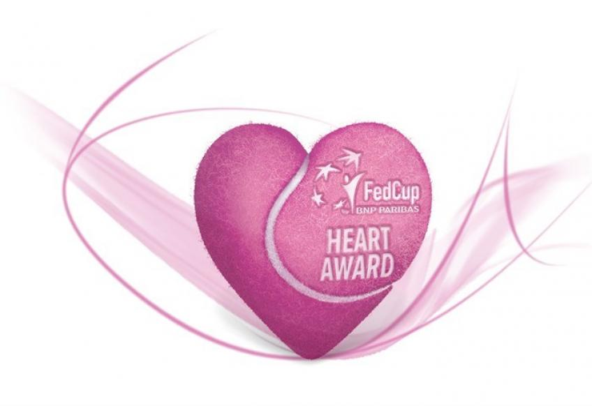 Fed Cup Heart Award nominees announced!
