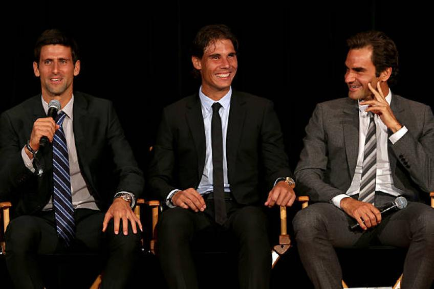 Federer, Nadal, Djokovic would retire if they stop winning - Mouratoglou