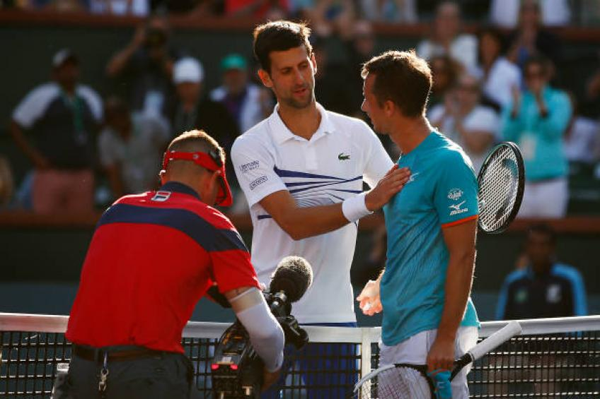 Kohlschreiber reveals how Roger Federer match helped him to beat Djokovic