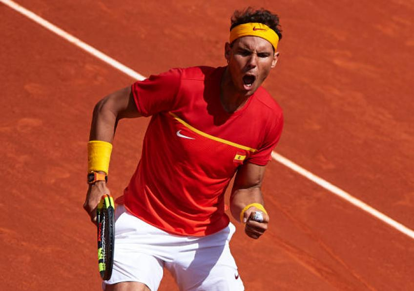 Rafael Nadal is looking forward to the Davis Cup to start - ITF President