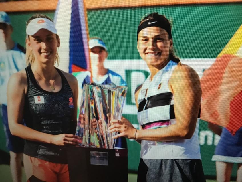 Finding a special addition, Aryna Sabalenka wins at Indian Wells