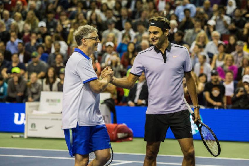 Roger Federer Explains Why He Helps Kids In Africa Through His Foundation