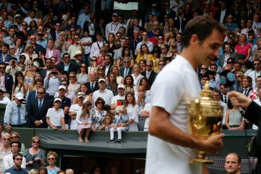 Roger Federer on his family see him win Wimbledon: 'It was very emotional'
