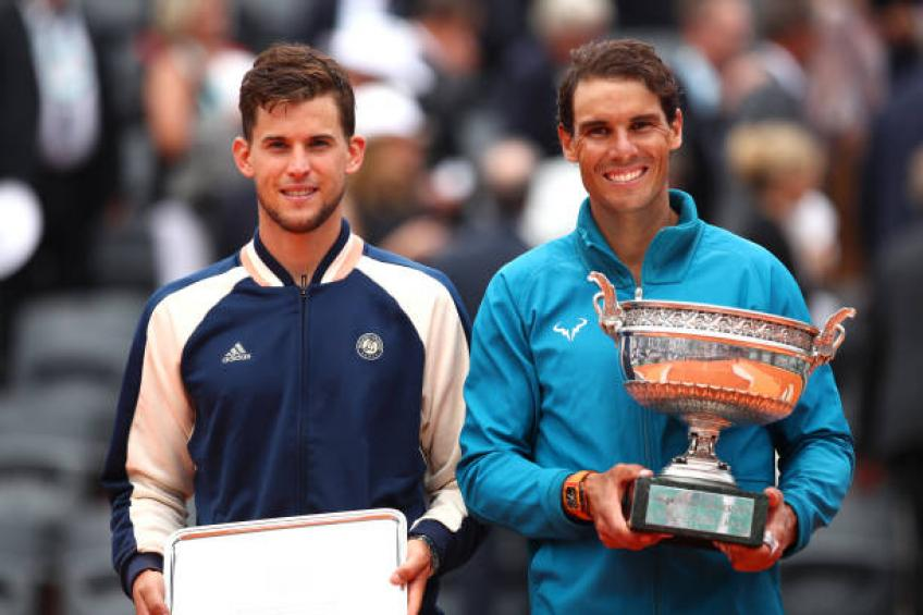 People Place Dominic Thiem Just Behind Rafael Nadal On Clay Coach