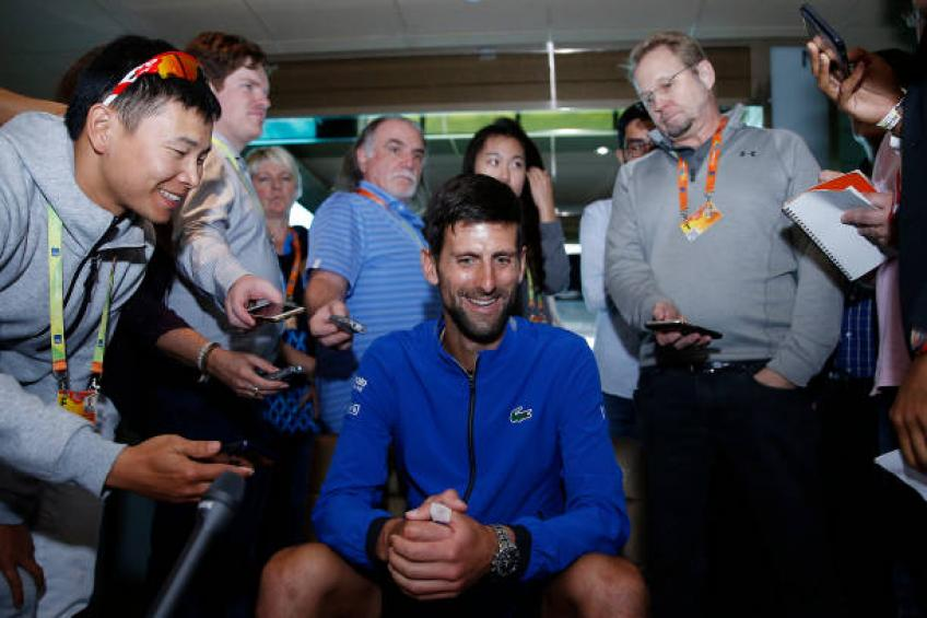 Novak Djokovic: 'I am trying to get to the level I was in Melbourne'