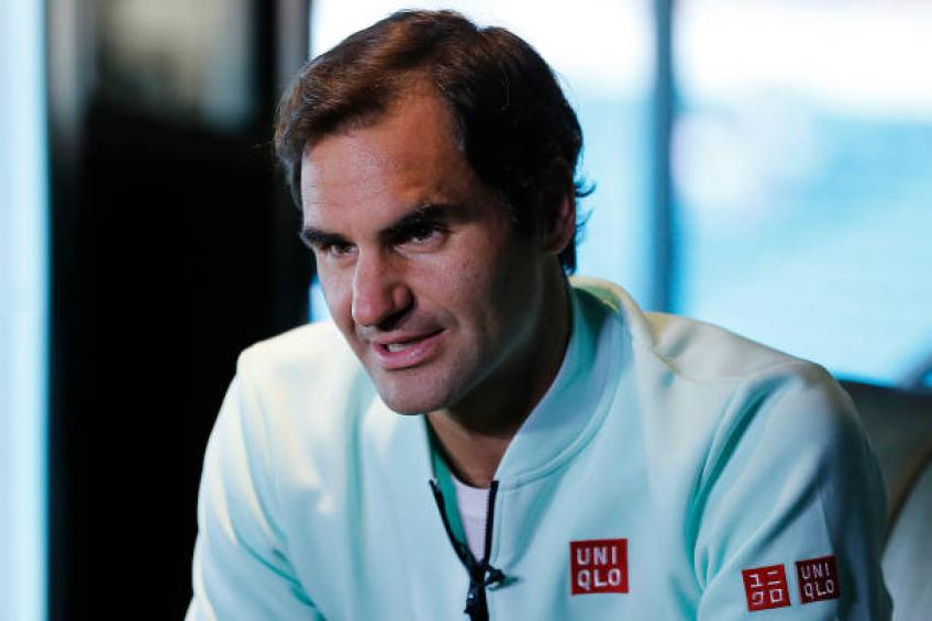 Roger Federer: I could hit forehand, slice in my sleep