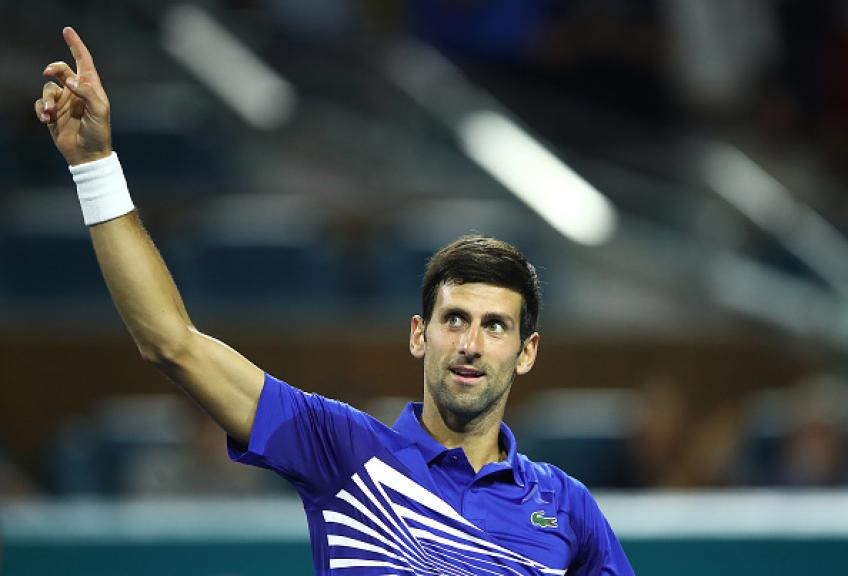 Novak Djokovic: 'Center Court in Miami has no sun after 1:00 PM'