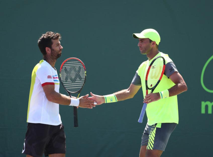 Jean Julien Rojer Asked to Change Shirt at Miami Open