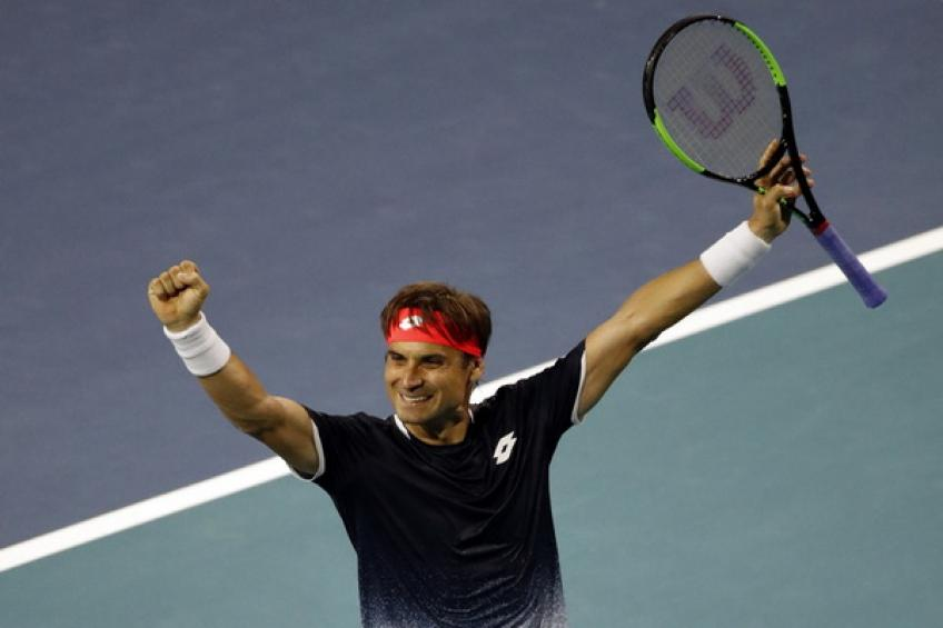 ATP Miami: David Ferrer downs Alexander Zverev! Tsitsipas and Tiafoe win