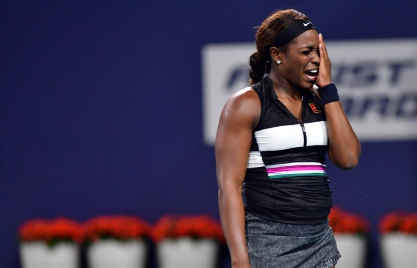 Sloane Stephens: Hopefully I can get some momentum
