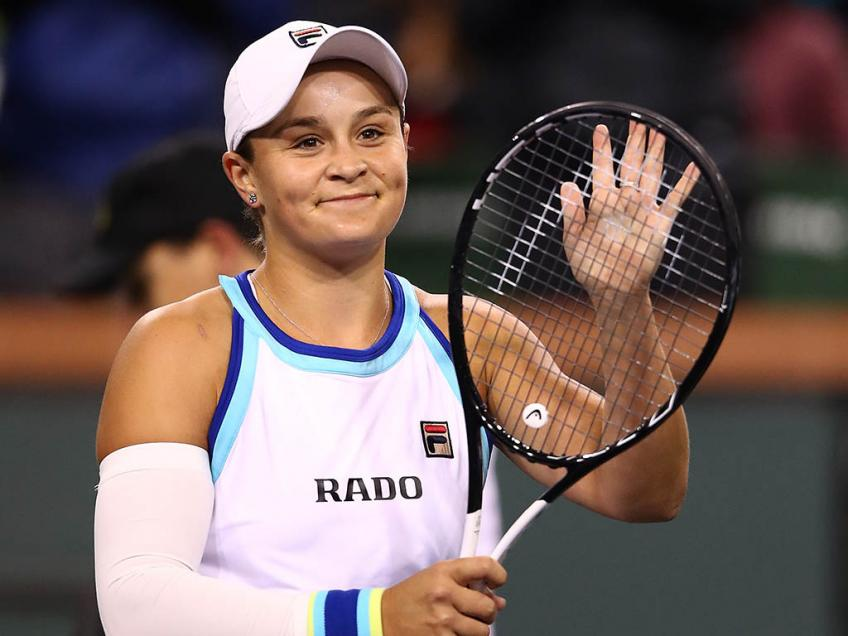 Miami Open: Ashleigh Barty first into QFs, to face Petra Kvitova