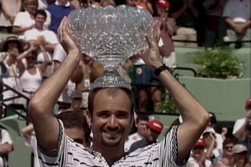 ThrowbackTimes Miami: Andre Agassi downs Pete Sampras for second Miami crown