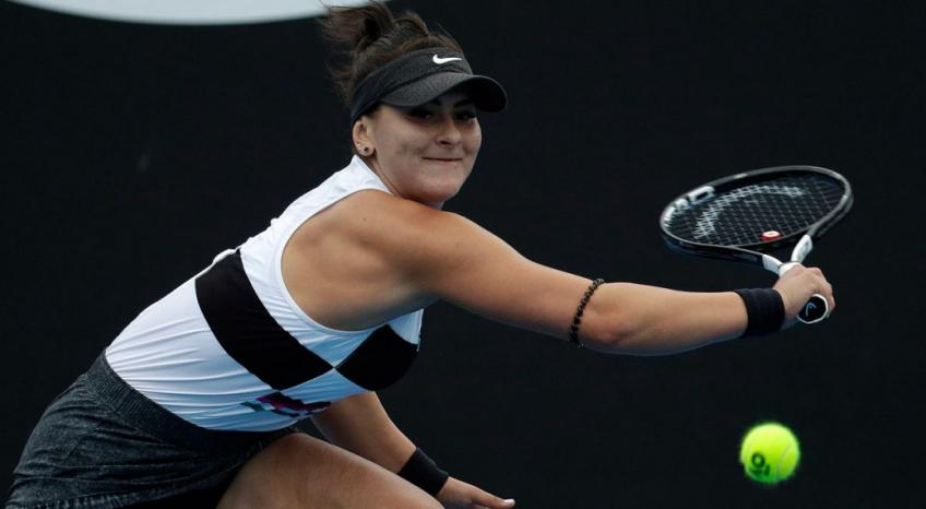 Secret combinations and a sprinkle of junk helps Bianca Andreescu get wins