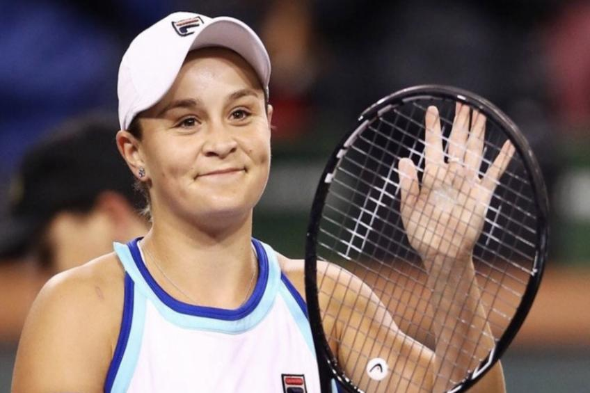 Ashleigh Barty 'as good as gold' in a milestone week