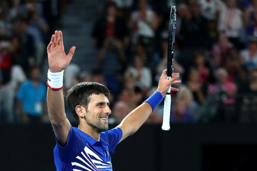 Novak Djokovic shares of sadness when he breaks rackets