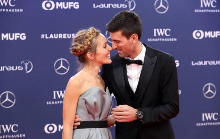 Novak Djokovic: 'Wife Jelena has always been my shoulder in tough moments'