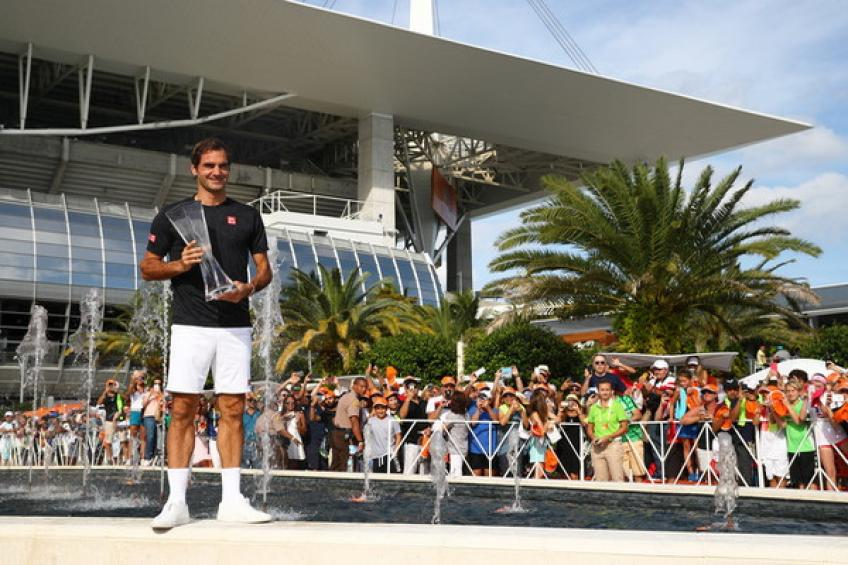 Roger Federer drives Miami Open to record attendance of 388,734