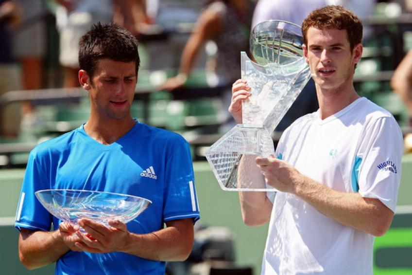 ThrowbackTimes Miami: Andy Murray sinks Novak Djokovic for third Masters 1000 crown
