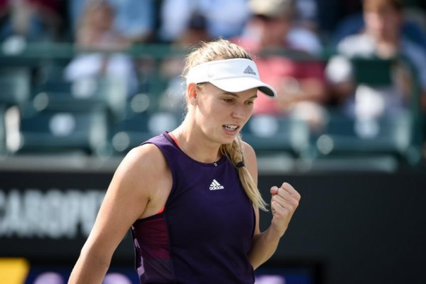 WTA Charleston: Keys downs Stephens. Wozniacki, Puig and Martic advance
