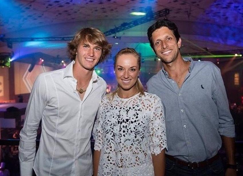 Marcelo Melo speaks about his close relationship with Alexander Zverev