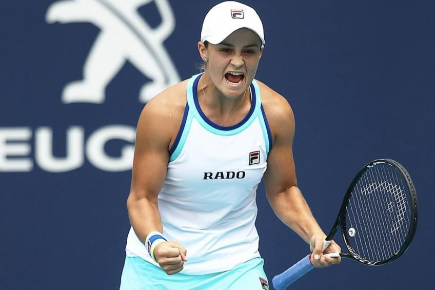 Ashleigh Barty makes winning start, Johanna Konta beaten in Birmingham