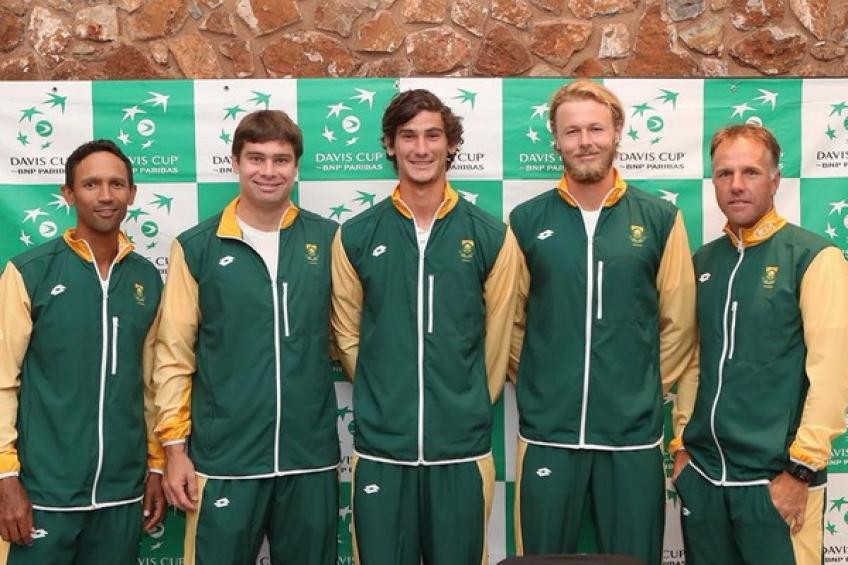 Davis Cup: South Africa to host Bulgaria in Cape Town on September 13-14