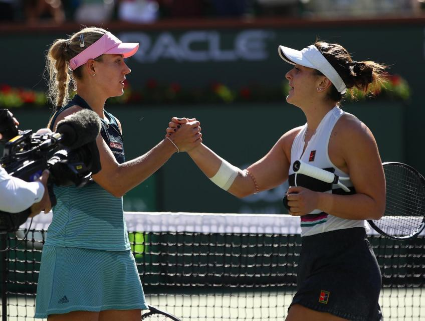 Bianca Andreescu reacts to Kerber calling her drama queen