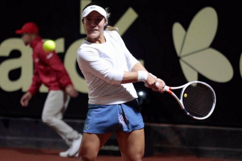 WTA Bogota: Kristie Ahn topples Jelena Ostapenko. Other seeds advance