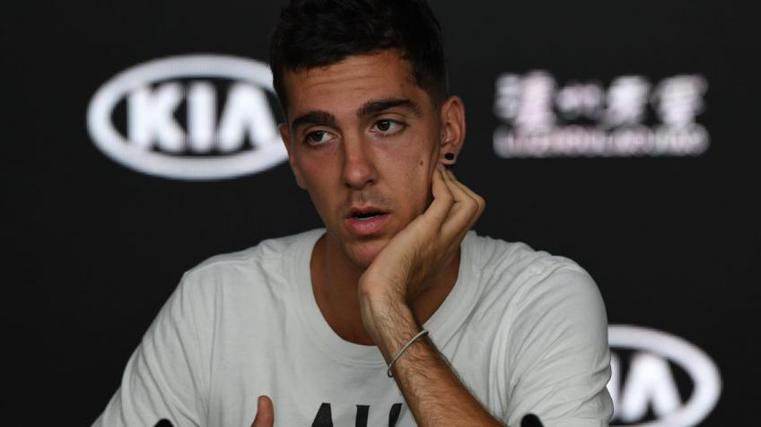 Thanasi Kokkinakis pulls out of his Barletta Challenger round-of-16 match