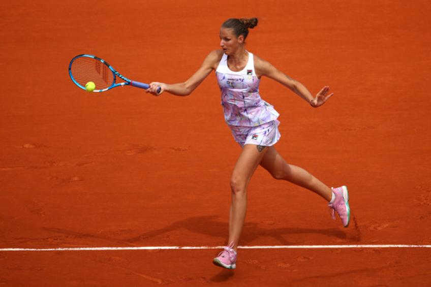 WTA Lugano: Pliskova, Lapko, Voegele and Swiatek reach the last eight