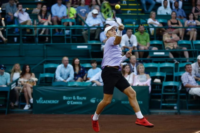 ATP Houston: Sam Querrey edges Janko Tipsarevic. Ruud destroys Granollers